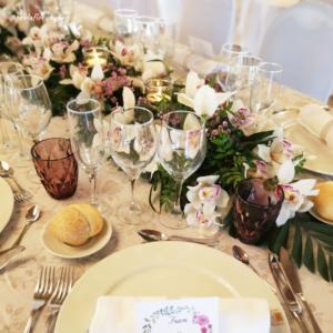 centro floral mesa